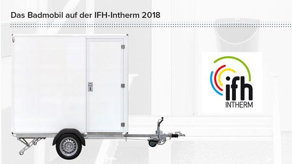 Das Badmobil auf der IFH-Intherm 2018
